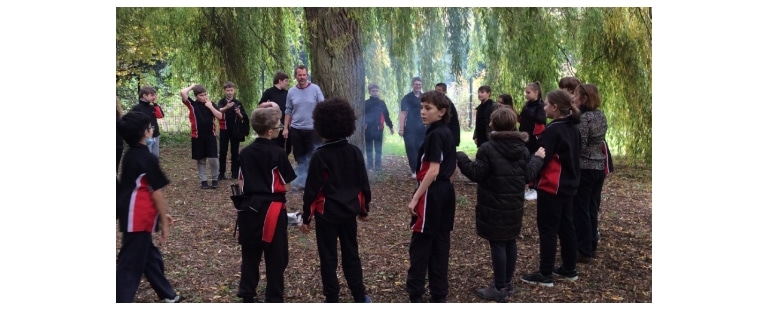 Year 7 at Compton Verney