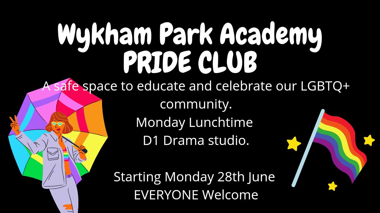 Pride Club poster
